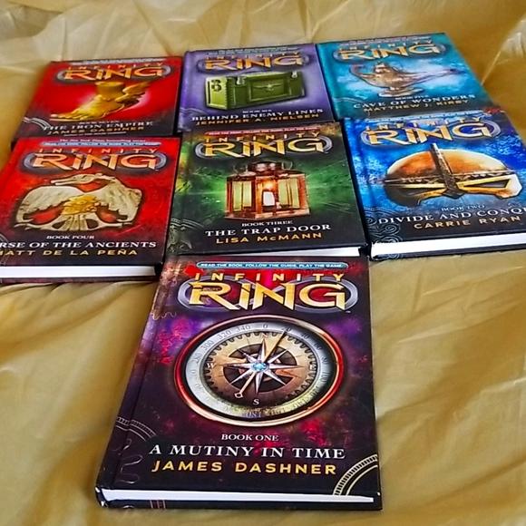 Infinity Ring Series Books 1-7 NEW